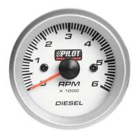 """Contagiri diesel 0-6000 RPM - Ø 2"""" (52 mm) - Blue-Light - 4/6/8 cilindri"""
