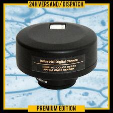 C-MOUNT OCULARE MICROSCOPIO DIGITALE USB PC CAMERA  MCB