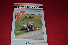 Oliver White Field Boss 37 Tractor Dealer's Brochure FMD FP300A