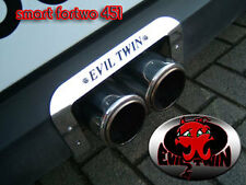 EVIL TWIN CENTER EXHAUST FOR SMART FORTWO 451