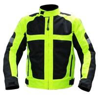 Mens Motorcycle Motocross Racing Jacket Reflective Safety Protective Coat Zsell