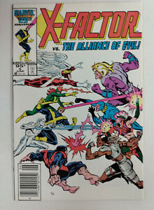 X-FACTOR Vol 1 #5  1st Printing - CANADIAN Newsstand - Apocalypse  / 1986 Marvel