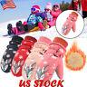 Kids Boys Girls Winter Warm Ski Gloves Child Non-slip Snow Mittens Skiing Gloves