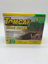 Tomcat Mole Killer Bait 10 Pack Worm Shaped Baits Rodent Pest Control.