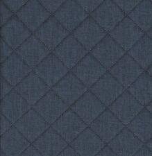 Taschenstoff Moskau Blau Steppstoffe Meterware Uni 0,5m Swafing Stoffe Taschen