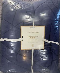 PB Teen Ryder Rugged Quilt, Twin/Twin XL, Classic Navy, FREE SHIPPING