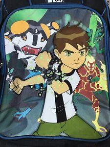 "Anime Ben10 Cartoon Network Backpack 16.5"" x 15.5"" x 5"""