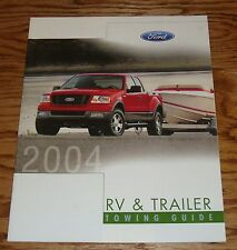 Original 2004 Ford Truck RV & Trailer Towing Guide Sales Brochure 04