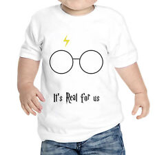 T-Shirt Neonato Harry Potter It'S Real For Us