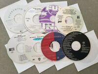 Music CDs (Lot of eight various CDs for one low price)