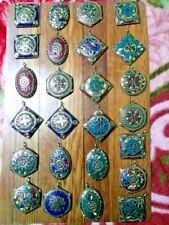 Pendant Boho Brass Vintage Jewelry 10 Banjara Tribal Tibetan Antique Assorted