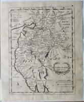 c1720; Cumberland map; England; Robert Morden (from Cox's Magna Britannica)
