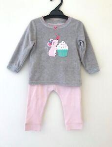 NEW CARTER's Pyjama top size 12 months Kmart bottoms girls loungewear sleepwear