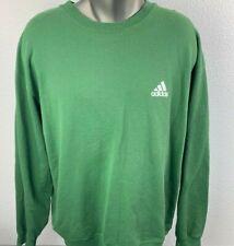 Adidas Vintage Sweatshirt Mens Size XL Green
