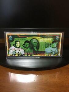 $2Art 70 pieces limited worldwide Star Trek  Banksy Rency (Rare)