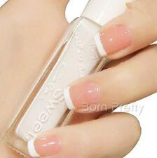 1Bottle 10ml Pure White Sweet Color French Nail Art Liner Polish Varnish #040