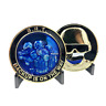 SRT OPERATOR police challenge coin Thin Blue Line NYPD LAPD CHICAGO FBI CBP