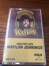 Greatest Hits by Waylon Jennings (Cassette, 1979, RCA)