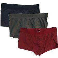 Calvin Klein Boxers CK Men Trunks Shorts Briefs Low Rise Underwear Navy Red Gray