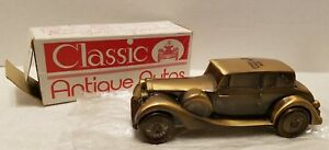 Vintage 1937 Rolls Royce Bank Home Federal/1974 Banthrico Car Bank with Orig Box