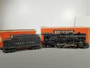 Lionel Post-Guerre 675 O Jauge 2-6-2 Vapeur Locomotive Et Tender