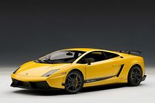 LAMBORGHINI GALLARDO LP570-4 SUPERLEGGERA METALLIC YELLOW AUTOART 74658 1/18 NEW