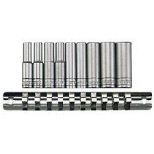 TENG TOOLS 1/4 DRIVE DEEP SOCKET SET AND RAIL 4mm > 13mm