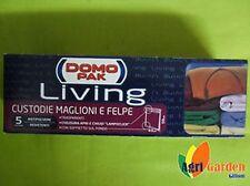 DOMO PAK LIVING 5 CUSTODIE PER MAGLIONI E FELPE TRASPARENTI