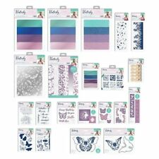 FLUTTERBY - Crafters Companion Sara Signature Collection Dies,Stamps,Folders etc