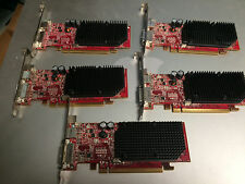 Lot Of 5 DELL ATI Radeon X1300128 MB DDR2 PCIe Video Card HJ513