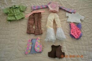 Lot of 8 Vintage Tutti? Chelsea? or Kelly Barbie clothes