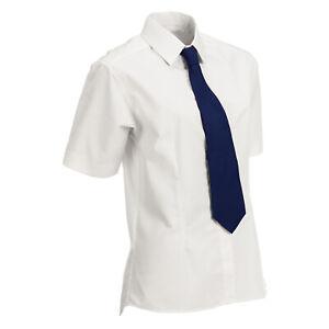 Equetech Flexion Stretch Show Shirt - Sizes UK10-24 Soft Yellow / White - Cotton