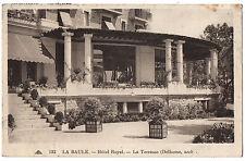 CPA 44 - LA BAULE (Loire Atlantique) - 132. Hôtel Royal. La Terrasse