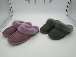 Kirkland Signature Women's Ladies Sheepskin Shearling Slippers (Choose Size)