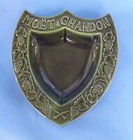Moët & Chandon  Ancien Grand Vide Poche Publicitaire Aubagne Provence Céramique