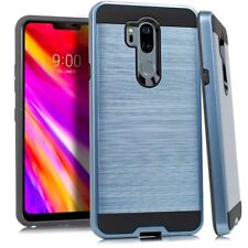 Metallic Brushed Hybrid Case Phone Cover for LG G7 G7+ ThinQ / G7 One / G7 Fit