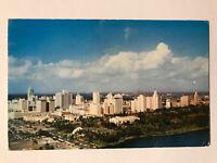 Airview of Miami, Florida FL Postcard