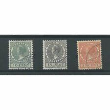 Nederland 136-138 Tentoonstelling  VFU/gebr CV  160 €