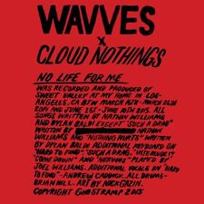 Wavves & Cloud Nothings No Life For Me Vinyl LP Record & MP3! hardcore pop punk!