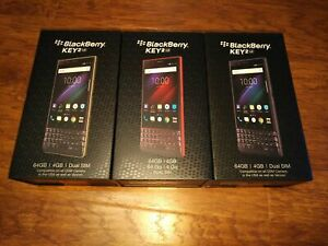 *USA Model, New, Sealed* BlackBerry KEY2 LE 64GB Dual SIM Smartphone (BBE100-5)