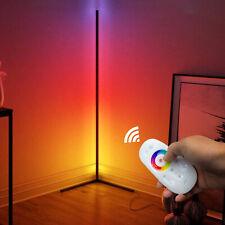 56 Dimming LED Floor Lamp RGB Corner Light Bedroom Living...