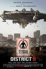 "DISTRICT 9  Movie Poster [Licensed-NEW-USA] 27x40"" Theater Size"