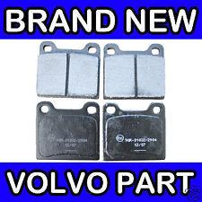Volvo 850, S70, V70 (-00) C70 (-05) Rear Brake Pads (2WD)