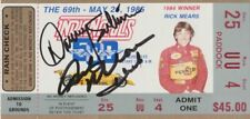 1985 Danny Sullivan (Win) + Rick Mears (Pictured) signed Indy 500 Ticket