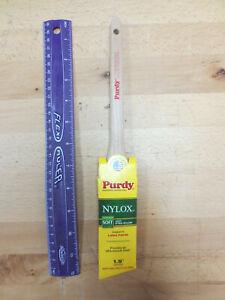 "Purdy Nylox Series Angular Trim Paint Brush, 1-1/2""- Latex Paint (Soft Bristles)"