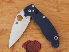 Spyderco C101GPDBL2 Manix 2, G-10 Dark Blue
