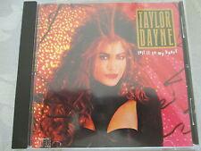 Taylor Dayne-Tell it to my heart-Arista CD Germany no IFPI