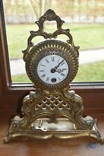 Horloge en bronze doré en très bon état