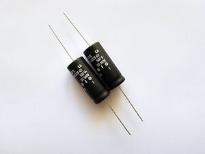 22uF 500V 550V Surge Current Axial Electrolytic Capacitor EPCOS B43698 (2)