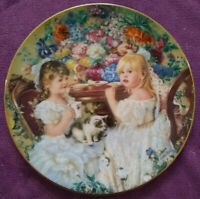 Collector Plate Hearts And Flowers By Sandra Kuck Plate The Tea Party Reco 1991